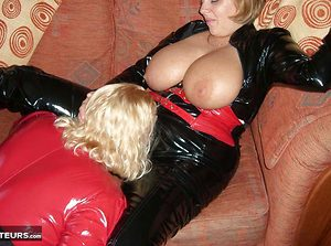 Lesbos In PVC